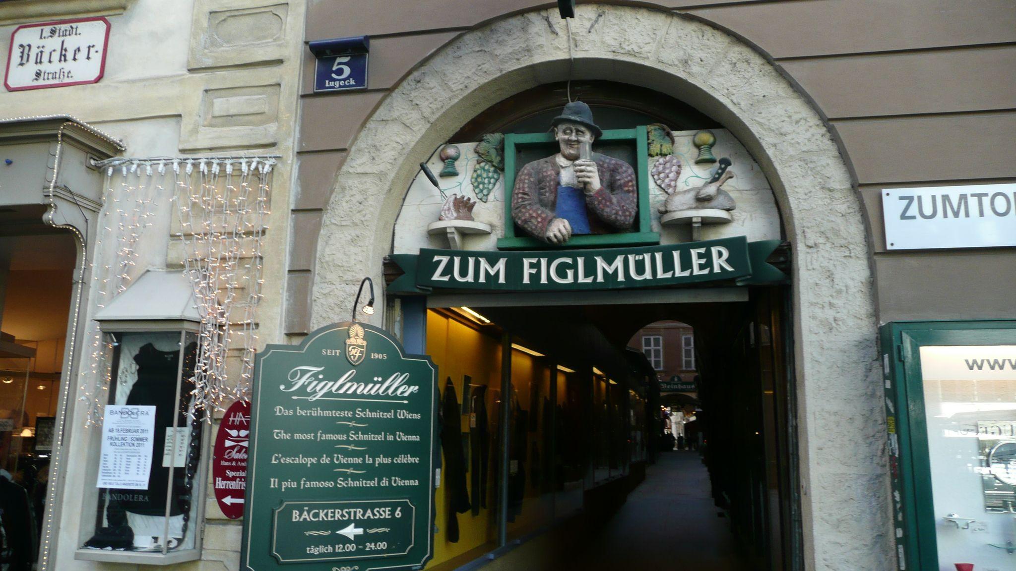 Figlmuller(Wollzeile 5), Βιέννη. Αυστρία, Ευρώπη