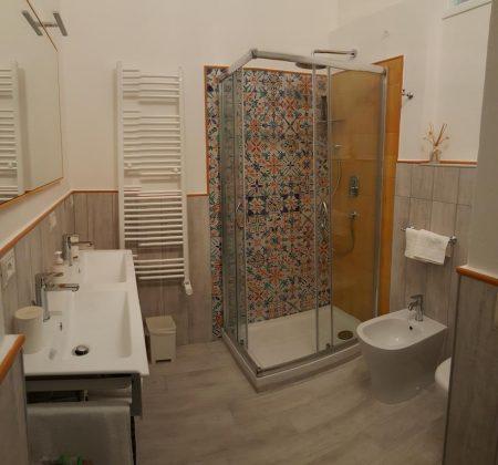 Προσωπικό Μπάνιο, Five Roses Bed & Breakfast, Πίζα, Τοσκάνη, Ιταλία, Ευρώπη