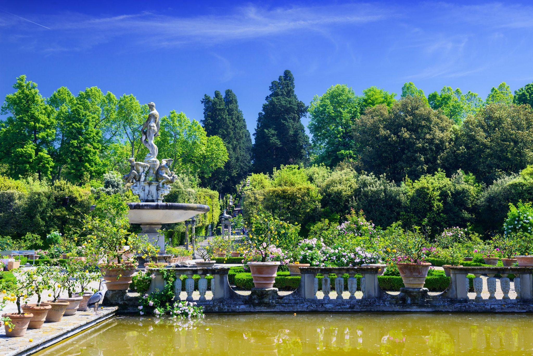 Κήποι Μπόμπολι, Φλωρεντία, Ιταλία, Ευρώπη