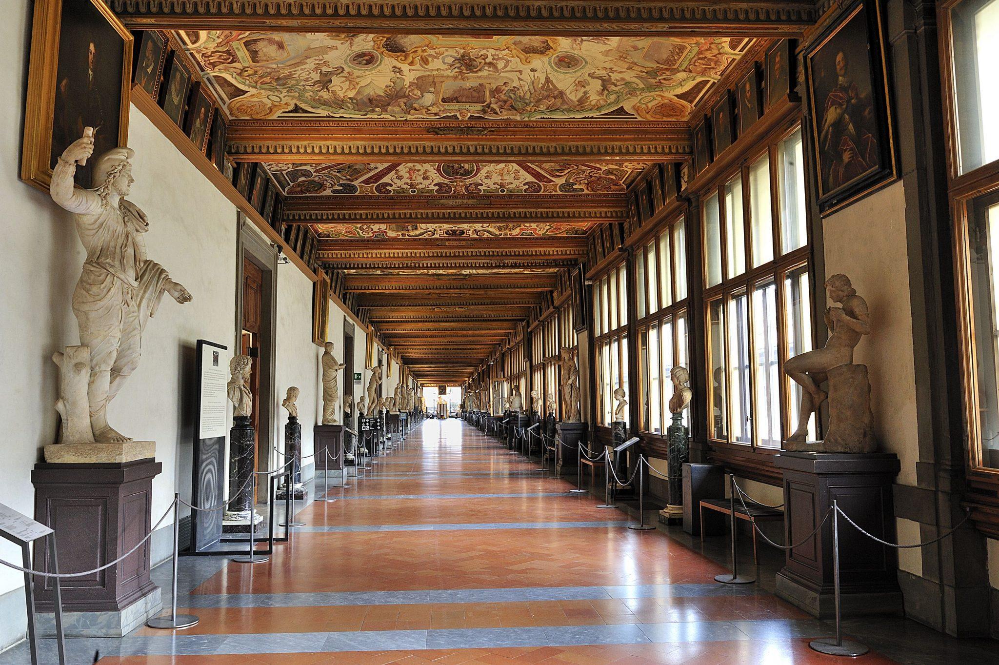 Πινακοθήκη Uffizi, Φλωρεντία, Ιταλία, Ευρώπη