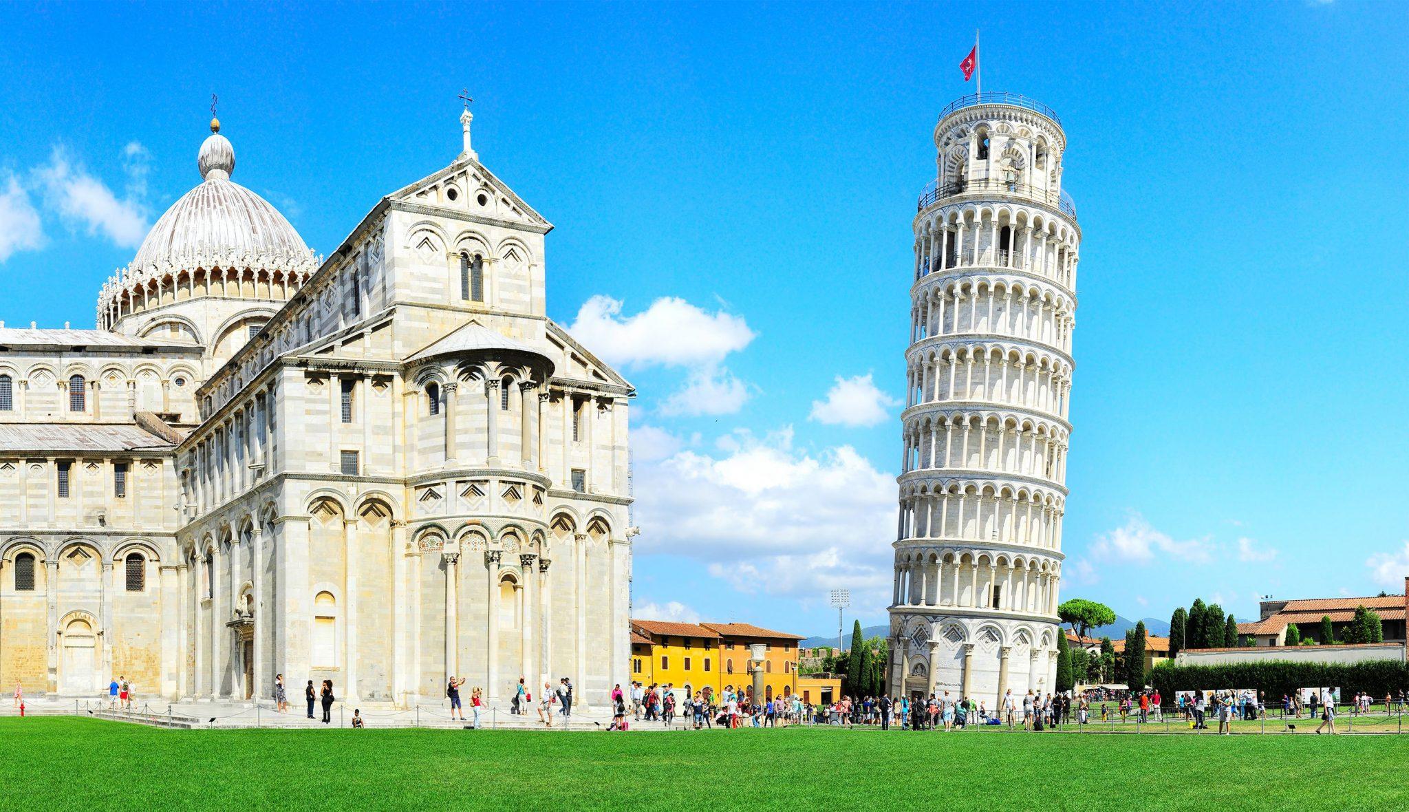 Ο Πύργος της Πίζας, Πίζα, Τοσκάνη, Ιταλία, Ευρώπη