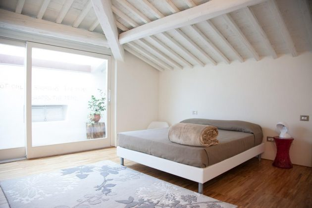 Υπνοδωμάτιο, Rosso di Sera Tuscany, Πίζα, Τοσκάνη, Ιταλία, Ευρώπη
