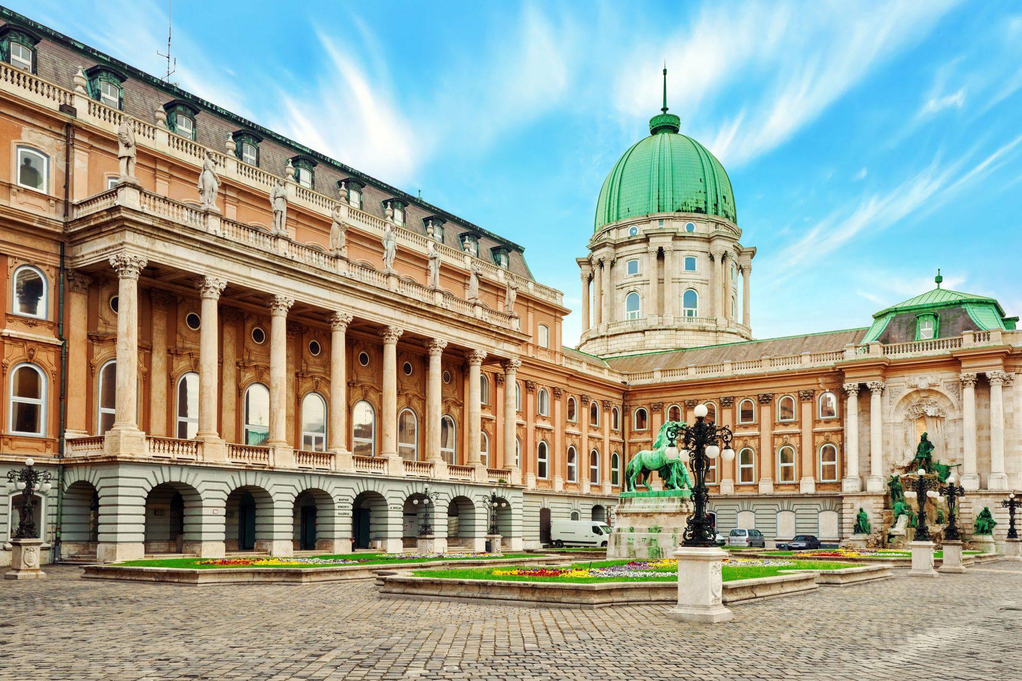 Βασιλικό Ανάκτορο Βούδας, Βουδαπέστη, Ουγγαρία, Ευρώπη