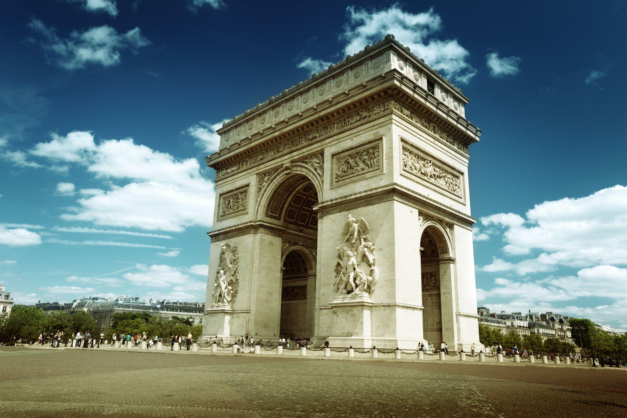 Αψίδα του Θριάμβου (Arc de Triomphe) - Παρίσι | TopTraveller