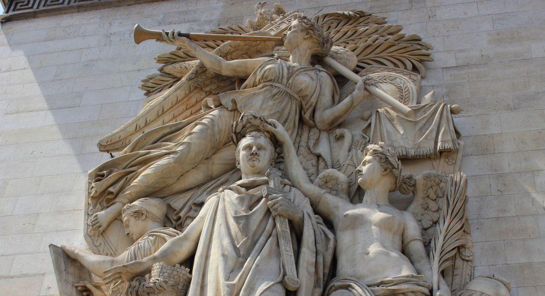 Αψίδα του Θριάμβου (Arc de Triomphe) , Παρίσι, Γαλλία, Ευρώπη