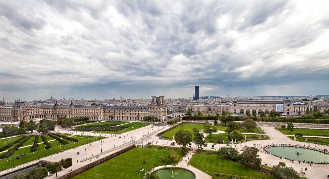 Ο Κήπος του Κεραμεικού (Jardin des Tuileries), Παρίσι, Γαλλία, Ευρώπη