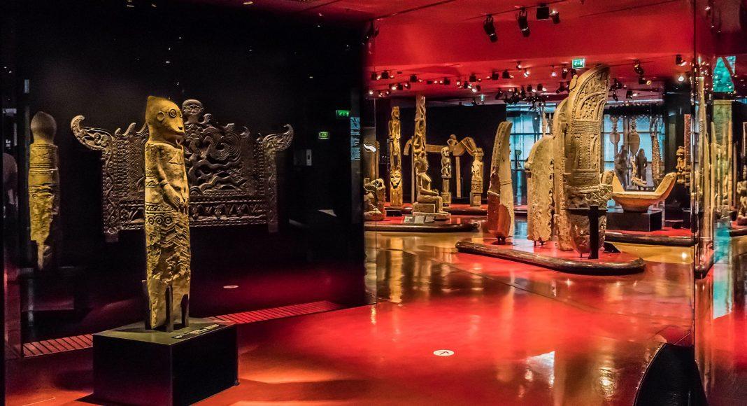 Μουσείο Quai Branly (Musée du quai Branly - Jacques Chirac) , Παρίσι, Γαλλία, Ευρώπη