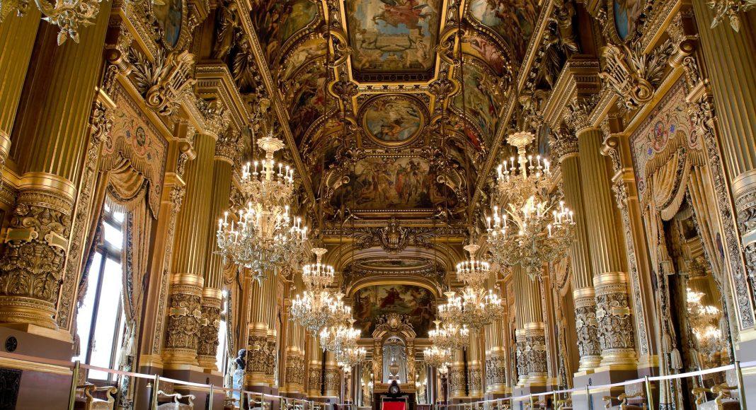 Όπερα Γκαρνιέ (Palais Garnier) , Παρίσι, Γαλλία, Ευρώπη