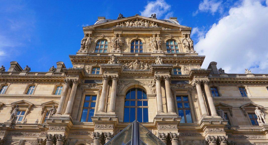 Παλάτι του Λούβρου (Palais du Louvre) , Παρίσι, Γαλλία, Ευρώπη