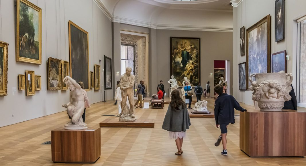 """Μουσείο Καλών Τεχνών του Παρισίου """"Μικρό Παλάτι"""" (Petit Palais) , Παρίσι, Γαλλία, Ευρώπη"""
