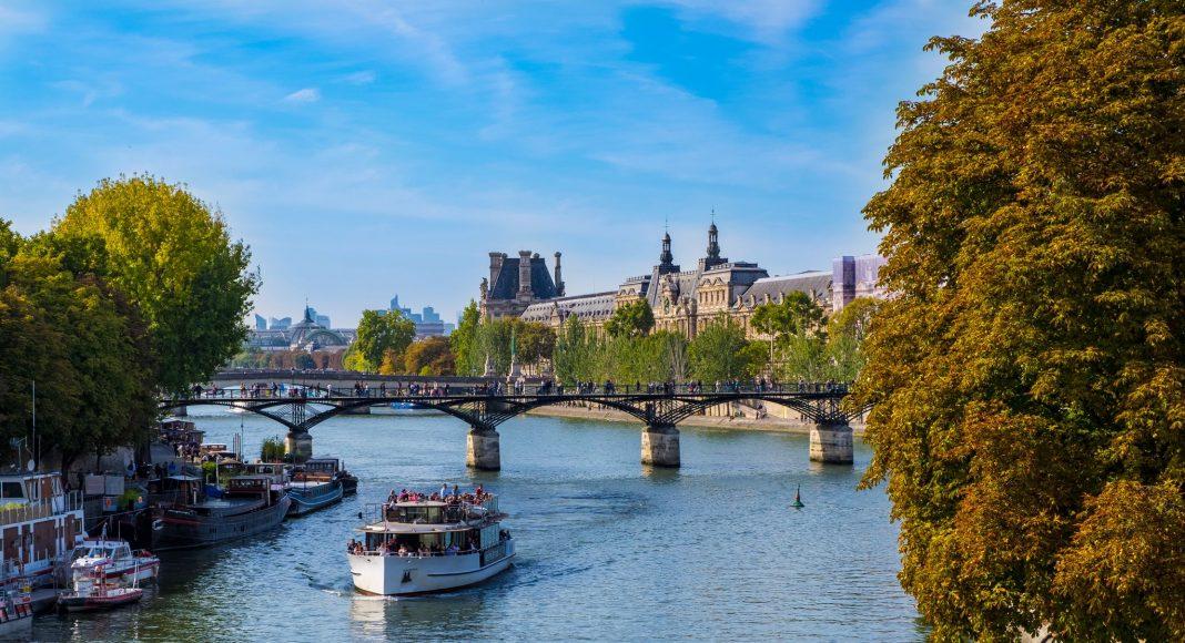 Γέφυρα των Τεχνών (Pont des Arts), Παρίσι, Γαλλία, Ευρώπη