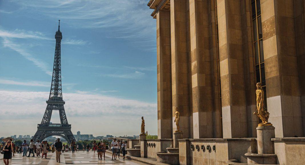 Τροκαντερό (Jardins du Trocadéro) , Παρίσι, Γαλλία, Ευρώπη