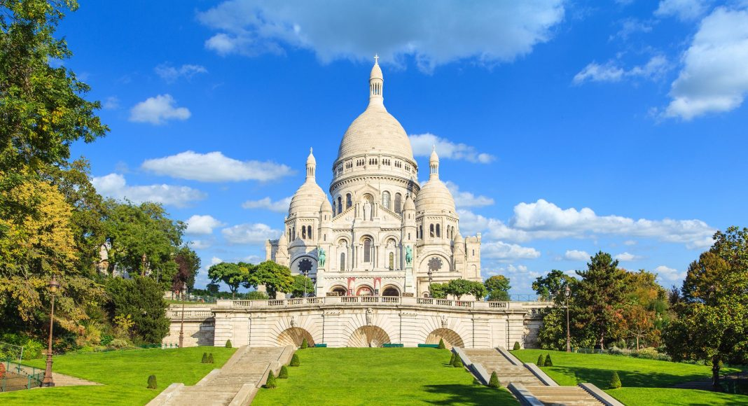 Βασιλική της Ιερής Καρδιάς της Μονμάρτης (Sacré-Cœur Basilica), Παρίσι, Γαλλία, Ευρώπη