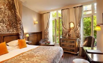 Υπνοδωμάτιο, Au Manoir Saint Germain, Παρίσι, Γαλλία, Ευρώπη