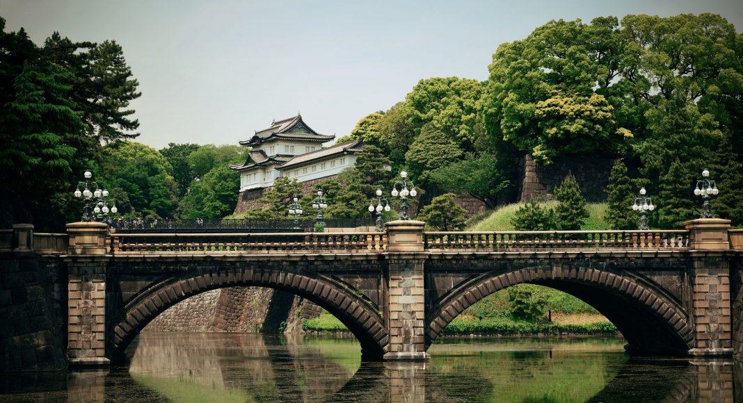Αυτοκρατορικό ανάκτορο του Τόκιο (皇居 (Kōkyo)) , Τόκιο, Ιαπωνία, Ασία