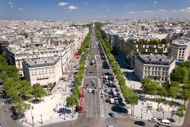 Σανζ Ελιζέ (Champs-Élysées), Παρίσι, Γαλλία, Ευρώπη
