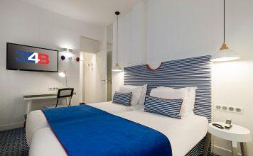 Υπνοδωμάτιο, Hotel 34B - Astotel, Παρίσι, Γαλλία, Ευρώπη