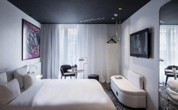 Υπνοδωμάτιο, Le Général Hôtel, Παρίσι, Γαλλία, Ευρώπη