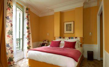 Υπνοδωμάτιο, Maison Lepic Montmartre, Παρίσι, Γαλλία, Ευρώπη