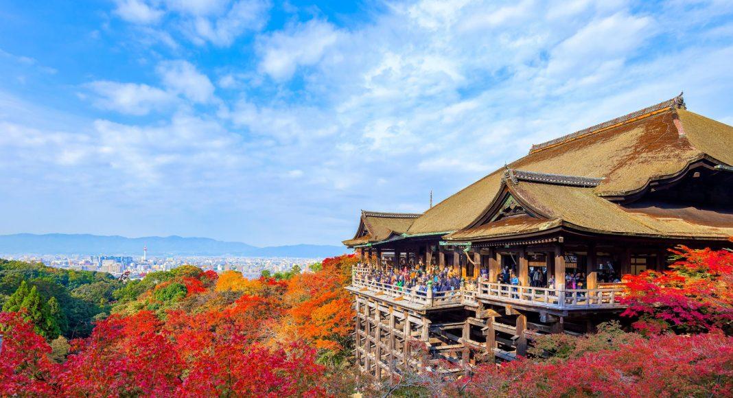 Ναός Κιγιομιζού (Kiyomizu-dera), Κιότο, Ιαπωνία, Ασία
