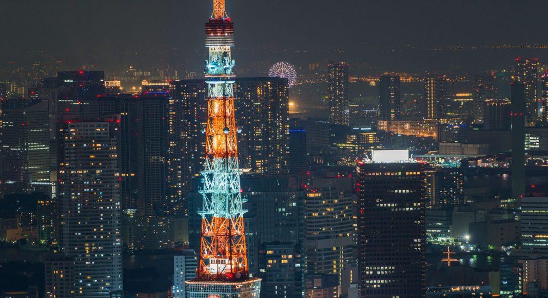 Πύργος του Τόκιο (東京タワー (Tōkyō tawā)) , Τόκιο, Ιαπωνία, Ασία