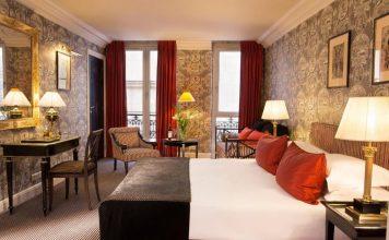 Υπνοδωμάτιο, Villa d'Estrées, Παρίσι, Γαλλία, Ευρώπη