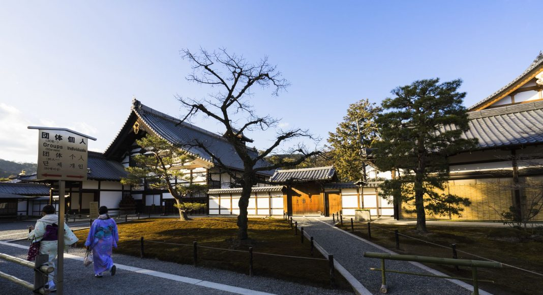 Χρυσό Περίπτερο (Κινκακούτσι) (金閣寺) , Κιότο, Ιαπωνία, Ασία
