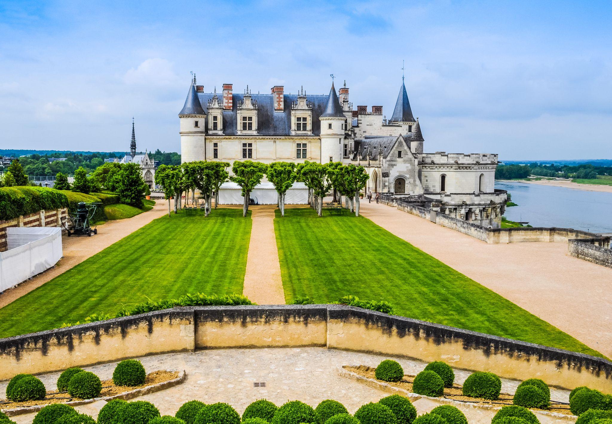 Κάστρο του Αμπουάζ, Αμπουάζ, Αντρ-ε-Λουάρ, Γαλλία