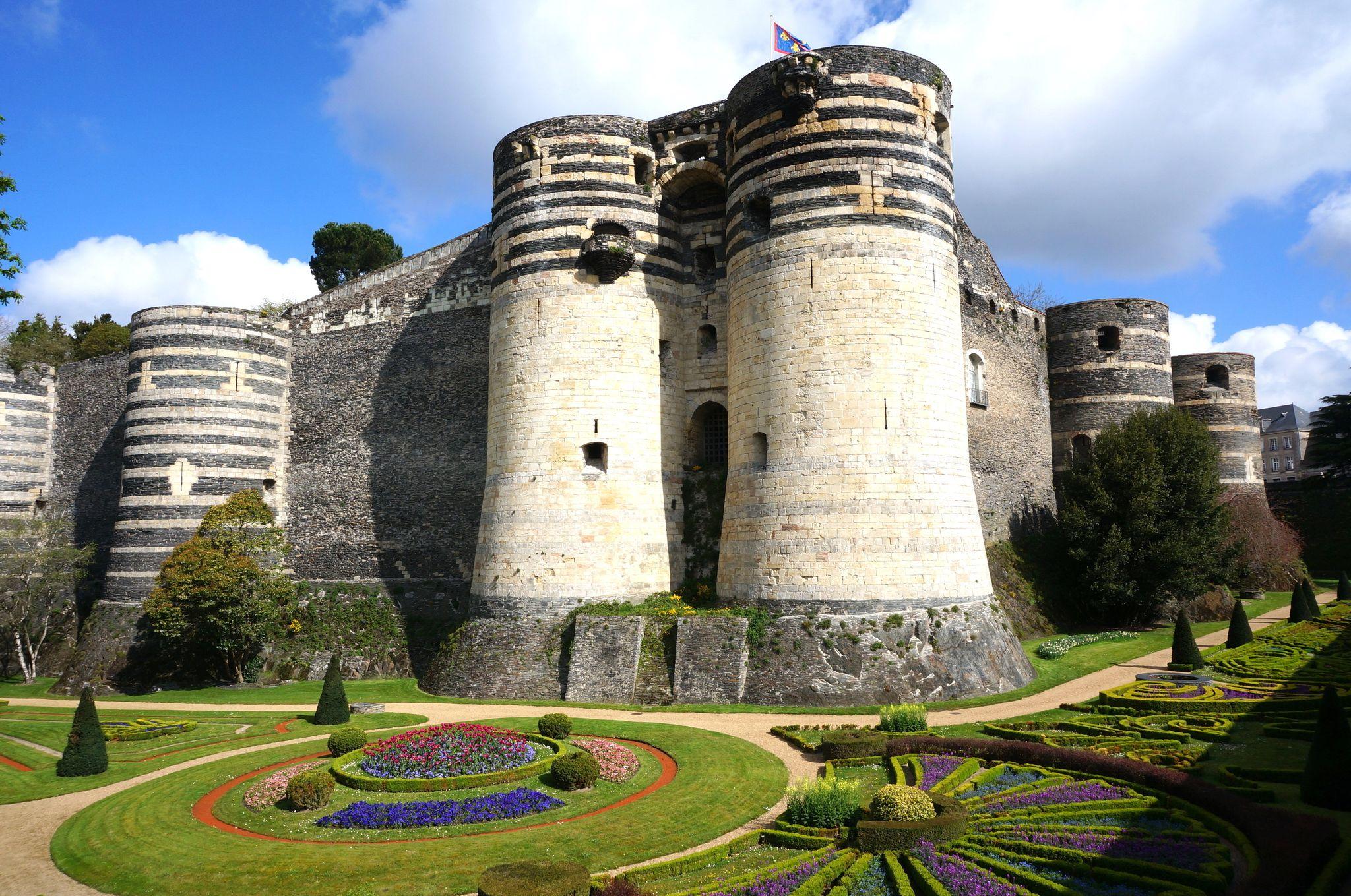 Κάστρο του Ανζέ, Ανζέ, Μαιν-ε-Λουάρ, Γαλλία