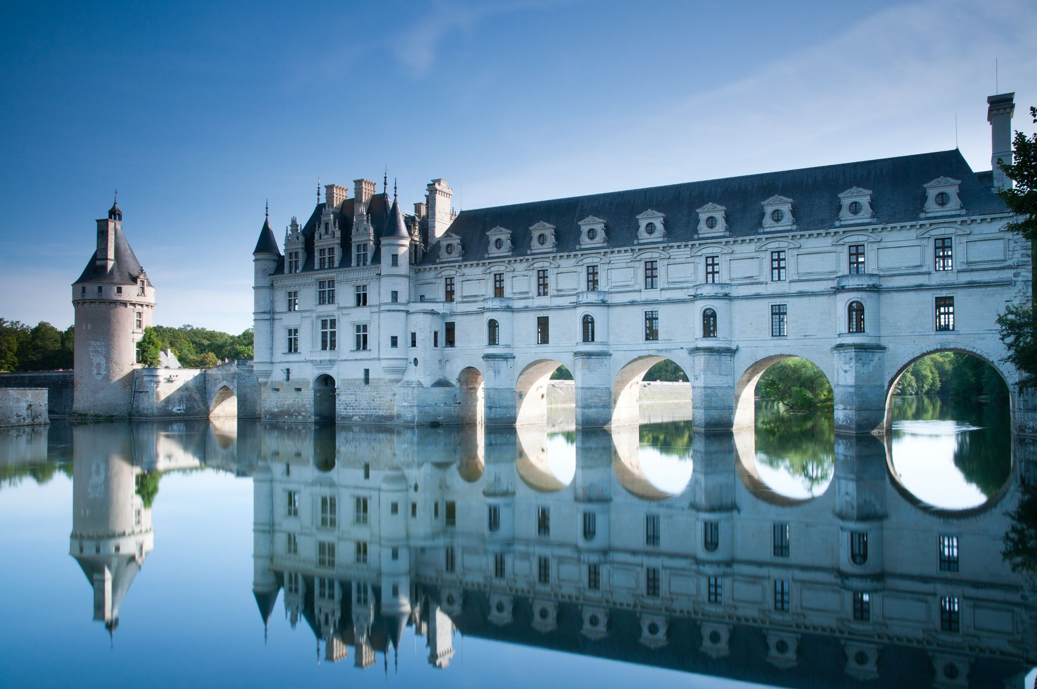 Κάστρο του Σενονσώ, Σενονσώ, Αντρ-ε-Λουάρ, Γαλλία