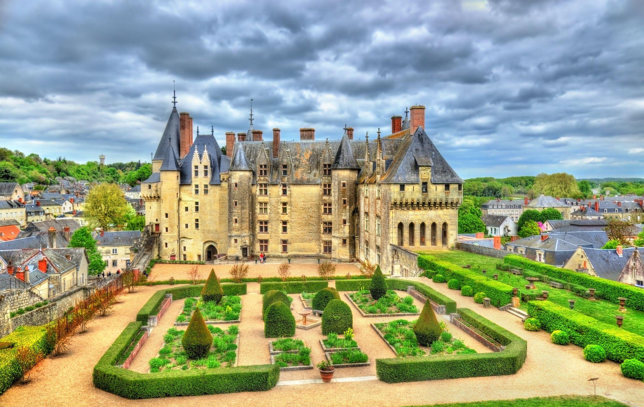 Κάστρο του Λανζαί, Λανζαί, Αντρ-ε-Λουάρ, Γαλλία