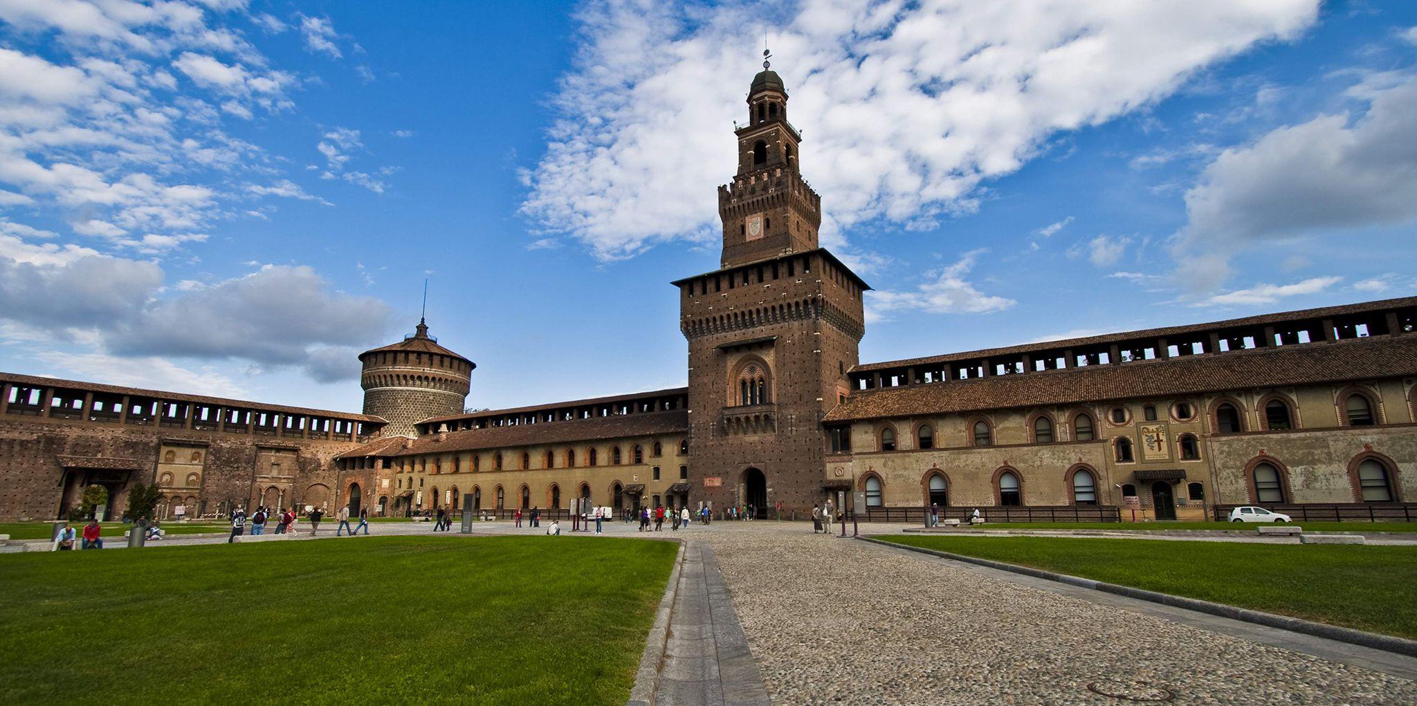 Κάστρο των Σφόρτσα (Castello Sforzesco) | TopTraveller.gr